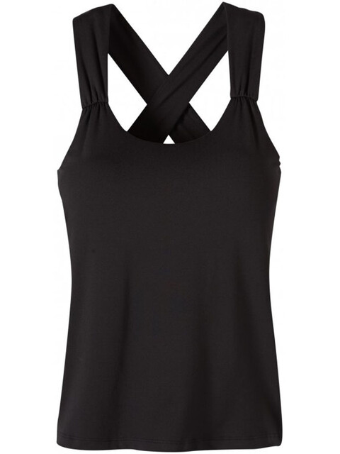 Prana Phoebe Mouwloos Shirt Dames zwart